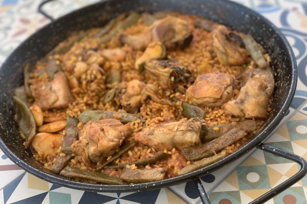 Paella cooking class online