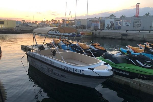 small motorboat rental valencia
